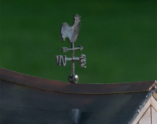 quarter scale rooster weathervane kit
