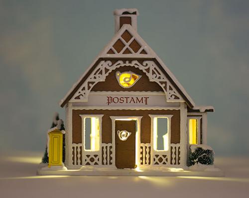 Gingerbread Post Office LED Lighting Kit