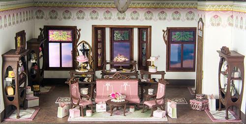 C'est La Vie boutique interior set