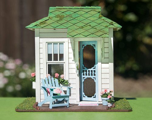 1:48 quarter scale Romantic Reading Room Structure Kit