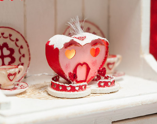 Valentine Glitter House