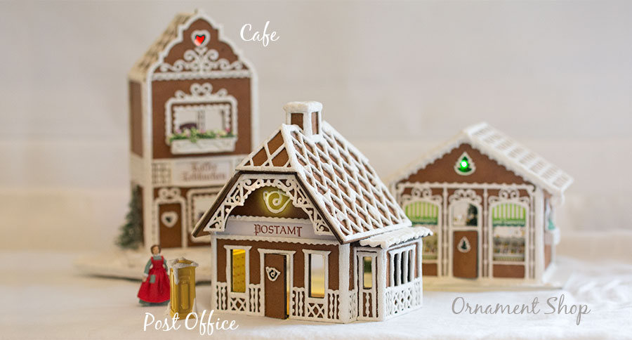 Gingerbread Village Kits