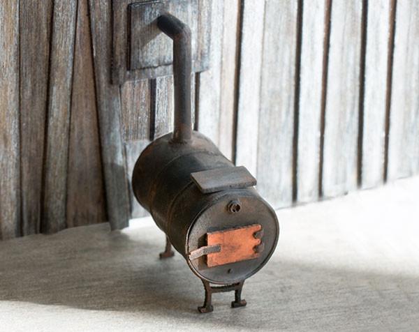 1 48 Potbelly Stove Kit True2scale Dollhouse Miniatures