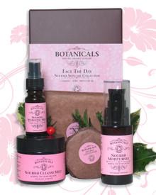 'Face the Day' Nourish Skincare Festive Gift Set