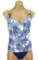 "TKR7 Tankini with Soft Cup Shelf Bra ""KENYA PALMS"" KBT"