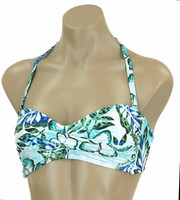 Blue Paradise Twisted Bandeau