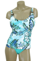 Blue Paradise camisole top with underwire