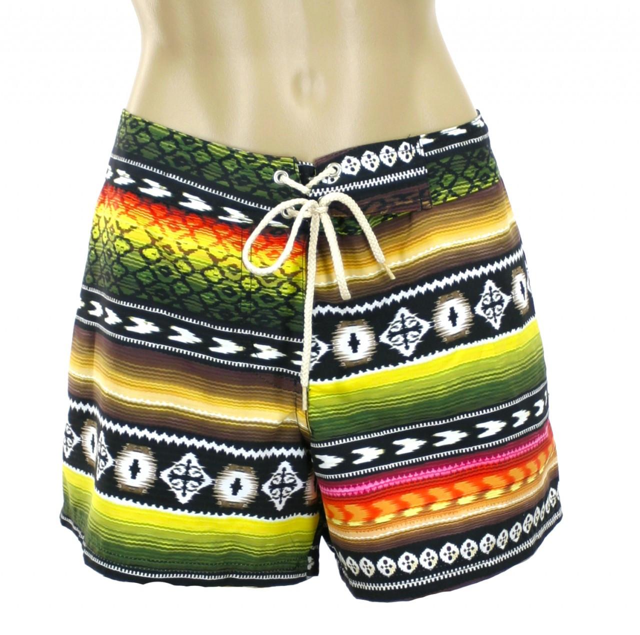e5fe2e089ce8f Zarape Stripe boardshort - Kechika Store