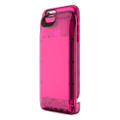 Boostcase Hybrid Power Case - Two Piece Design - protection case & battery sleeve, 2,700mAh - iPhone 6/6s - Transparent Tourmaline Pink