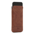 Sena Ultraslim Heritage - genuine leather case/pouch - iPhone 7 Plus / 8 Plus, Cognac Brown