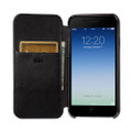 Sena Ultra thin Wallet Book case - genuine leather - iPhone 7, Black