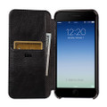 Sena Ultra thin Wallet Book case - genuine leather - iPhone 7/8 Plus, Black