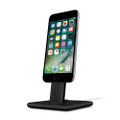 Twelve South HiRise 2 - Adjustable brushed metal Desktop Stand - iPhone and iPad, Black