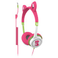 iFrogz Little Rockers volume limited headphones for kids - Pink Kitten
