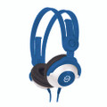 KidzGear Wired Headphones – volume limiting stereo headphones especially for children/kids, Blue