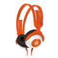 KidzGear Wired Headphones – volume limiting stereo headphones especially for children/kids, Orange