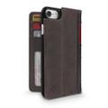 Twelve South BookBook Vintage Wallet Style Leather Case - iPhone 7/8, Vintage Brown