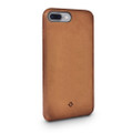 Twelve South Relaxed Leather - genuine burnished leather case - for iPhone 7 Plus, Cognac