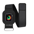 Twelve South ActionSleeve sport armband for Apple Watch 38mm, Large - Black