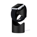Just Mobile TimeStand - aluminium desktop charging pedestal for Apple Watch, Black