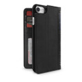 Twelve South BookBook Vintage Wallet Style Leather Case - iPhone 7/8, Black