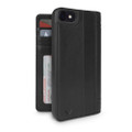 Twelve South Journal - full grain genuine leather folio wallet case - iPhone 7/8/SE (2nd Gen), Black