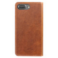 Nomad Horween Leather Folio Wallet case - vegetable tanned genuine leather - iPhone 7 Plus/8 Plus, Rustic Brown