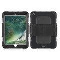Griffin Survivor All-Terrain Heavy Duty Rugged Case with screen protector - iPad 9.7 (2017/2018), Black