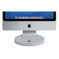 Rain Design - i360 - aluminium swivel base stand for 27 inch Apple iMac, Silver