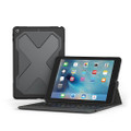 Zagg Rugged Messenger Keyboard Case - Bluetooth keyboard with detachable case, iPad 9.7 (5th and 6th Gen)