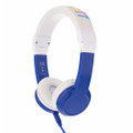 BuddyPhones Explore Headphones for Kids - Foldable with microphone - Blue