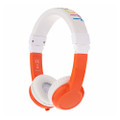 BuddyPhones Explore Headphones for Kids - Foldable with microphone - Orange