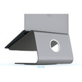 Rain Design mStand 360 - aluminium desktop swivel stand for Apple MacBook and MacBook Pro - Space Grey