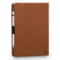 Sena Vettra - genuine leather book cover folio with rotating snap in case - iPad Pro 10.5, Tan