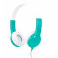 BuddyPhones Standard Headphones - volume limiting especially for Kids - Green