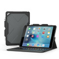 Zagg Rugged Messenger Keyboard Case - Bluetooth keyboard with detachable case, iPad Pro 10.5