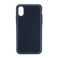 Just Mobile Quattro Air case - slim bumper case with air cushions - iPhone X, Blue