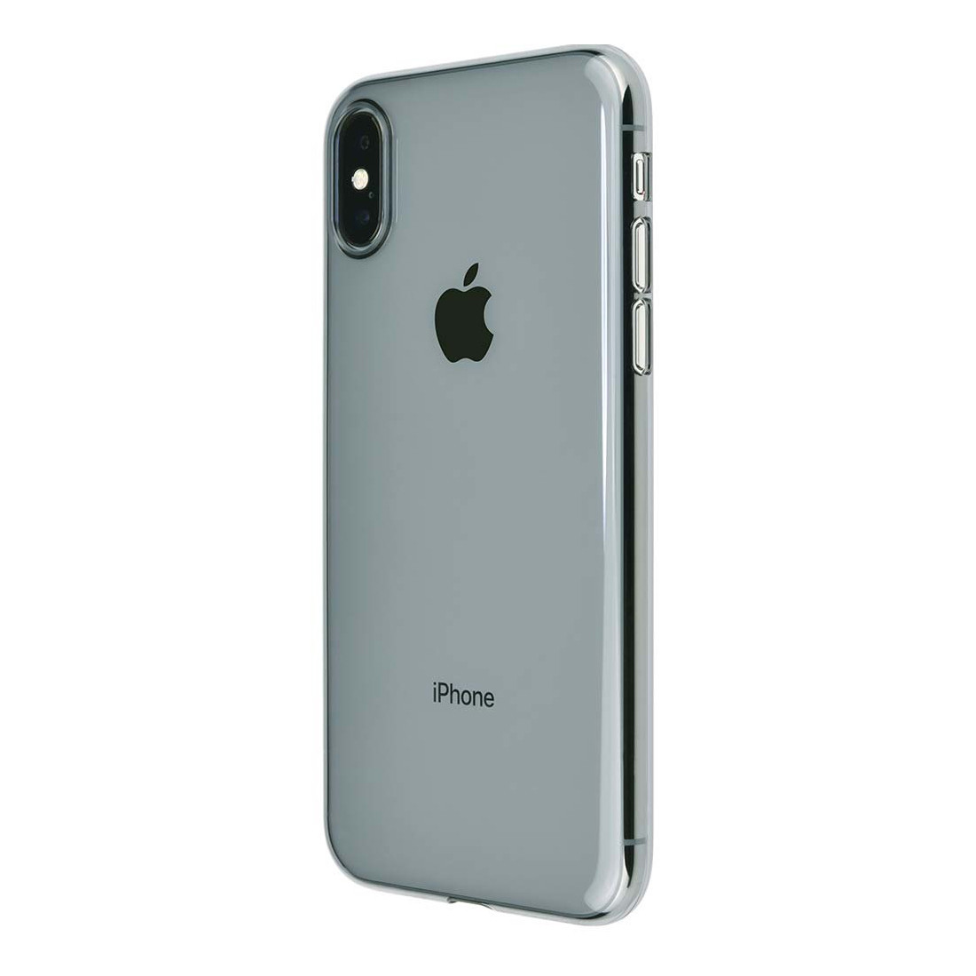 sneakers for cheap d9089 daff8 Power Support Air Jacket - Ultra thin protection case - iPhone X,  Clear/Black
