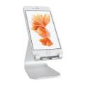 Rain Design - mStand Mobile - Aluminium desktop display stand for iPhone, iPad Mini and smartphones, Silver