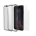 Zagg Glass+ Contour 360 - Tempered Glass Front Screen and Back Protection and Bumper for iPhone X / XS