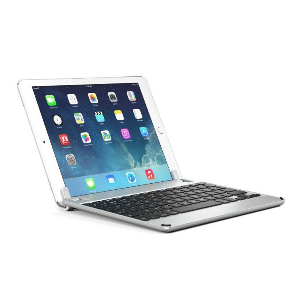 Brydge 9 7 Bluetooth Keyboard precision engineered aluminium - iPad 9 7  (2018, 2017/5th Gen, Pro 9 7, Air 2 and Air), Silver