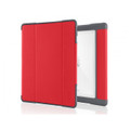 STM Dux Plus - Rugged heavy duty folio protection case - iPad Pro 10.5 - Red