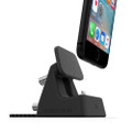 ElevationLab Elevation Dock 4 angle adjustable dock with integrated lightning cable for iPhone, Black/Silver
