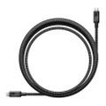 Nomad USB-C Cable 100 watt - ultra rugged braided ballistic nylon - 1 metre