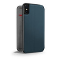 Twelve South - SurfacePad minimalist thin genuine leather case/cover for iPhone X/XS, Teal