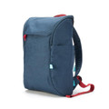 Booq Daypack Laptop Backpack - minimalist design for everyday use - 13 to 15 inch Mac, up to 15.6 inch PC, Navy/Red