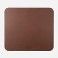 Nomad Horween Genuine Leather designer mouse pad, Brown