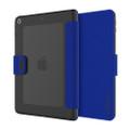 Incipio Clarion - impact resistant, shock absorbing lightweight folio case with translucent back - iPad 9.7 (2017/2018), Blue