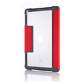 STM Dux - Rugged heavy duty folio protection case - iPad 9.7 inch (2017/2018) - Red