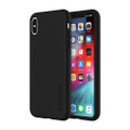 Incipio DualPro dual layer protection case - hard shell and shock absorbing inner core - iPhone XS Max, Black
